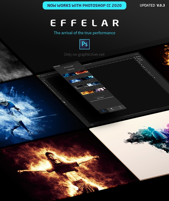 Effelar Photo Effects for Photoshop - Utilities Actions