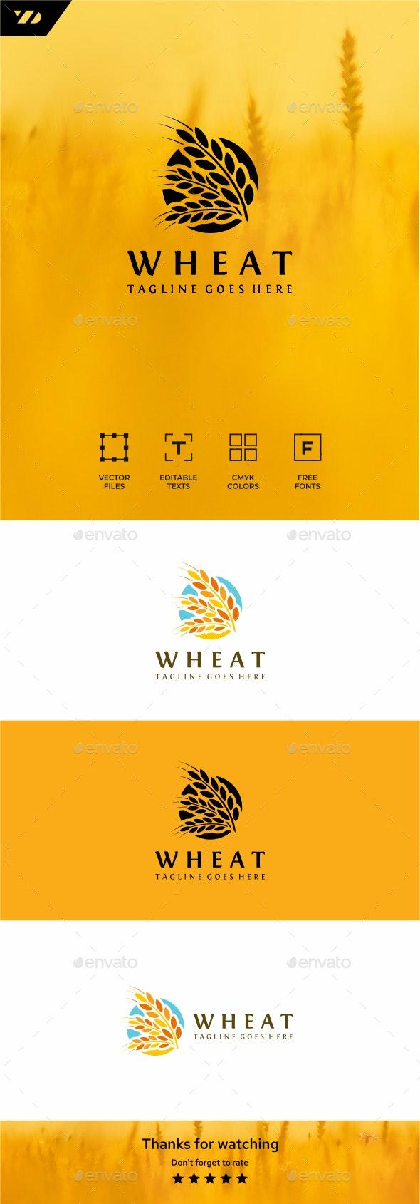 Wheat - Food Logo Templates