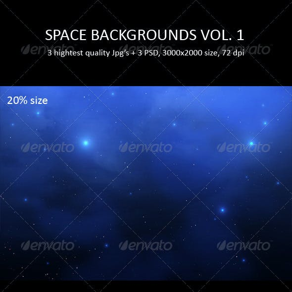 Space Backgrounds Vol. 1