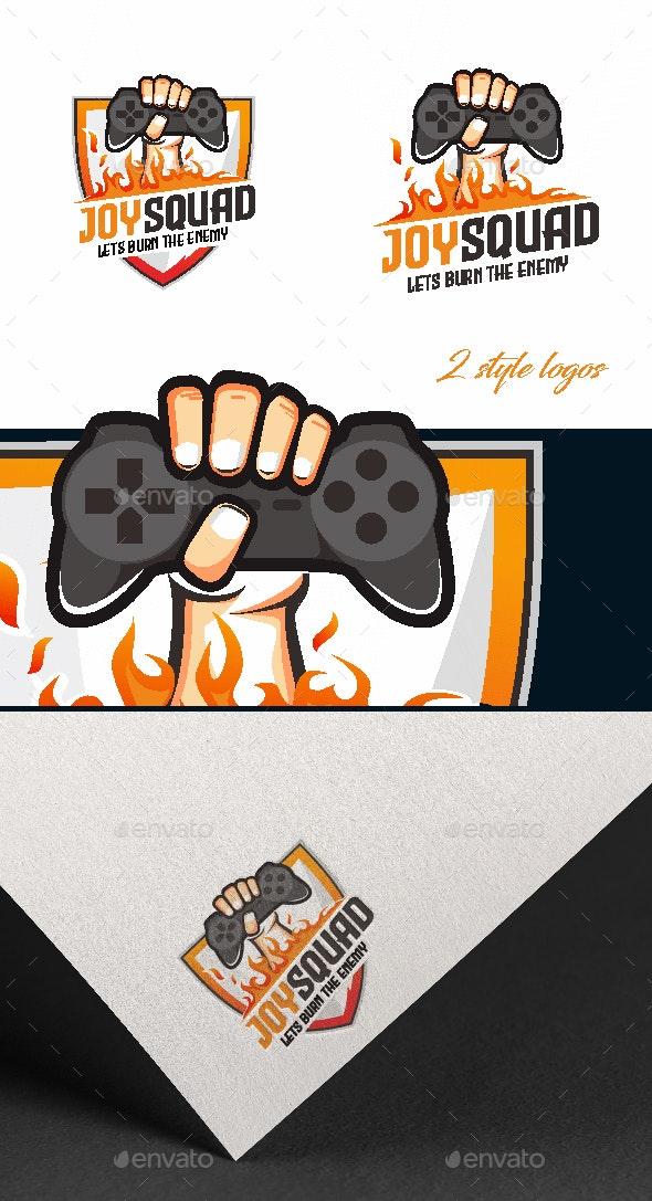 Joy Squad Esport Logo - Sports Logo Templates