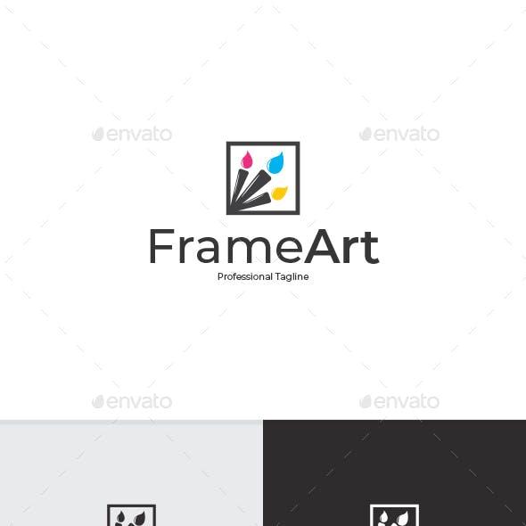Frame Art Logo Template