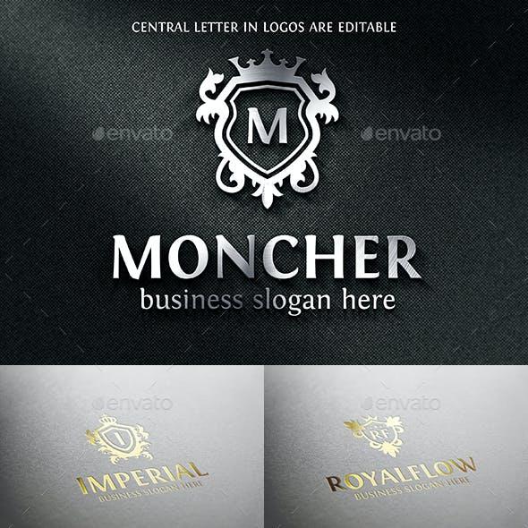 Crest Badge Boutique Luxury Royal Logo Emblems