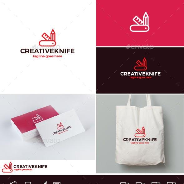 Creative Knife Logo