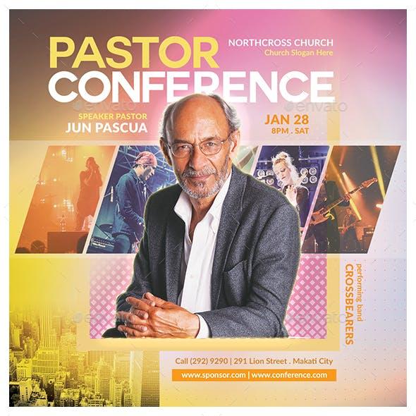 Pastor Conference Flyer