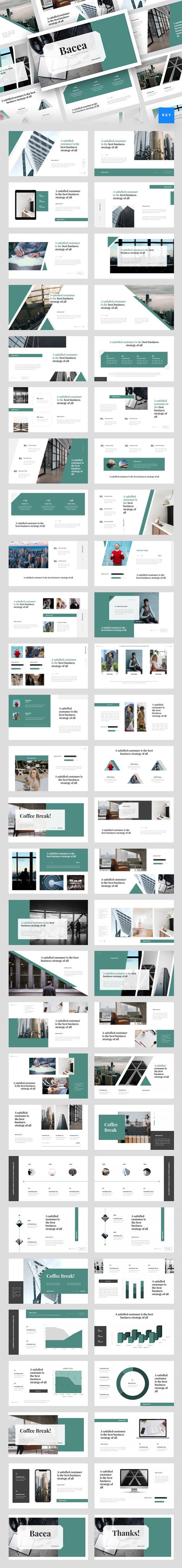 Bacea - Business Keynote Template - Business Keynote Templates