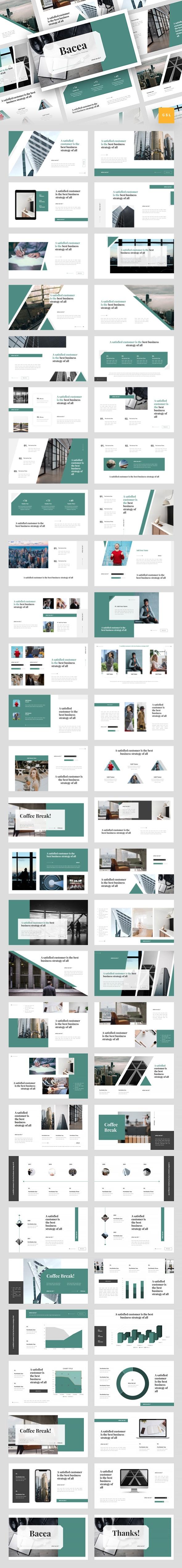 Bacea - Business Google Slides Template - Google Slides Presentation Templates