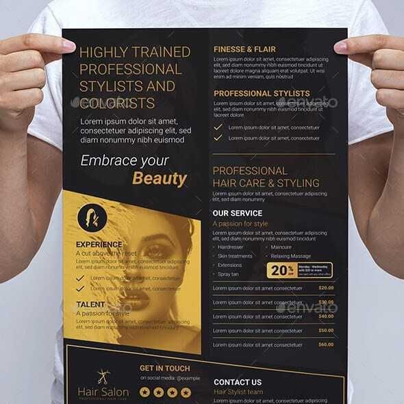 Hair Salon Poster / Banner