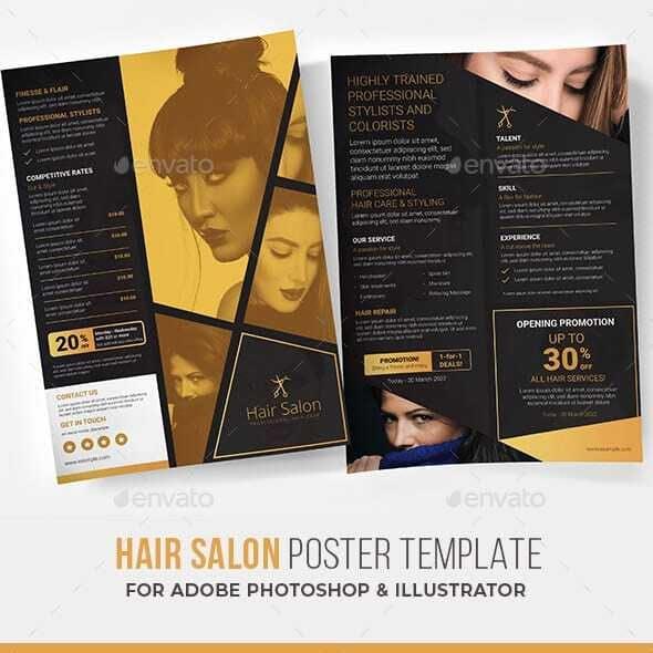 Hair Salon Poster / Flyer
