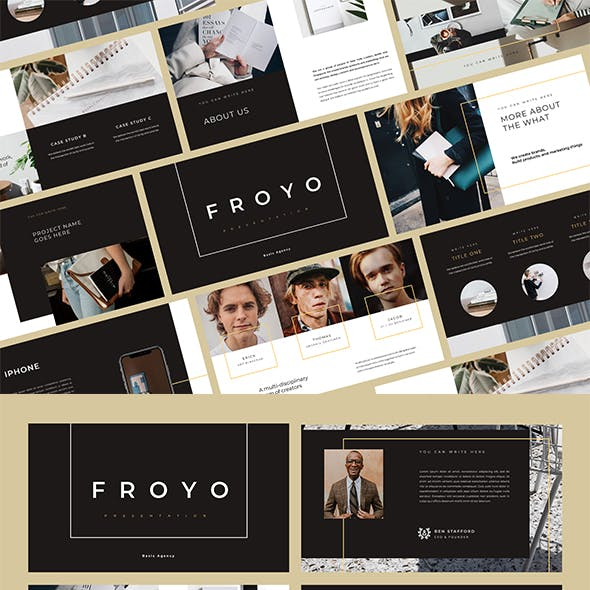 Froyo PowerPoint Template