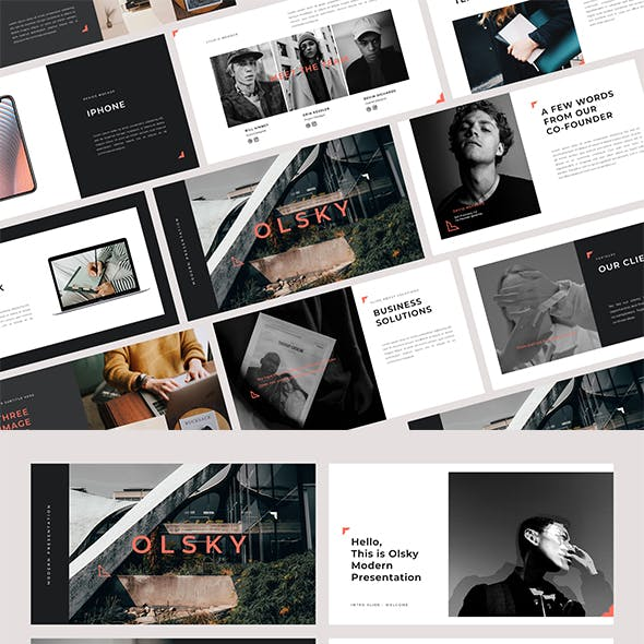 Olsky PowerPoint Template