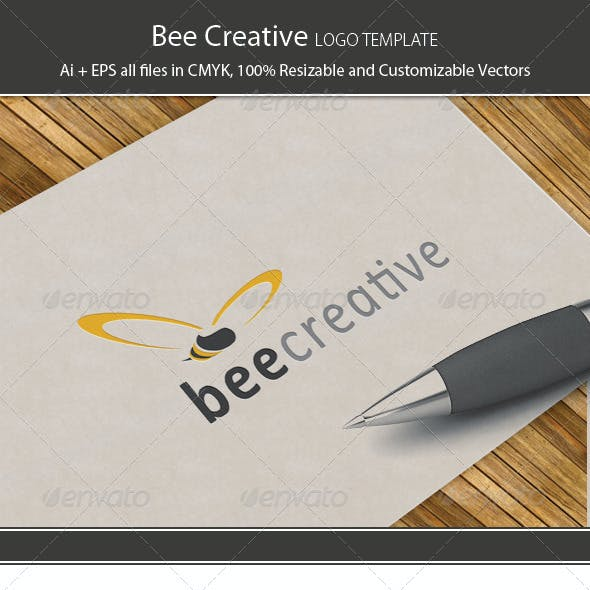 Bee Creative Logo Template