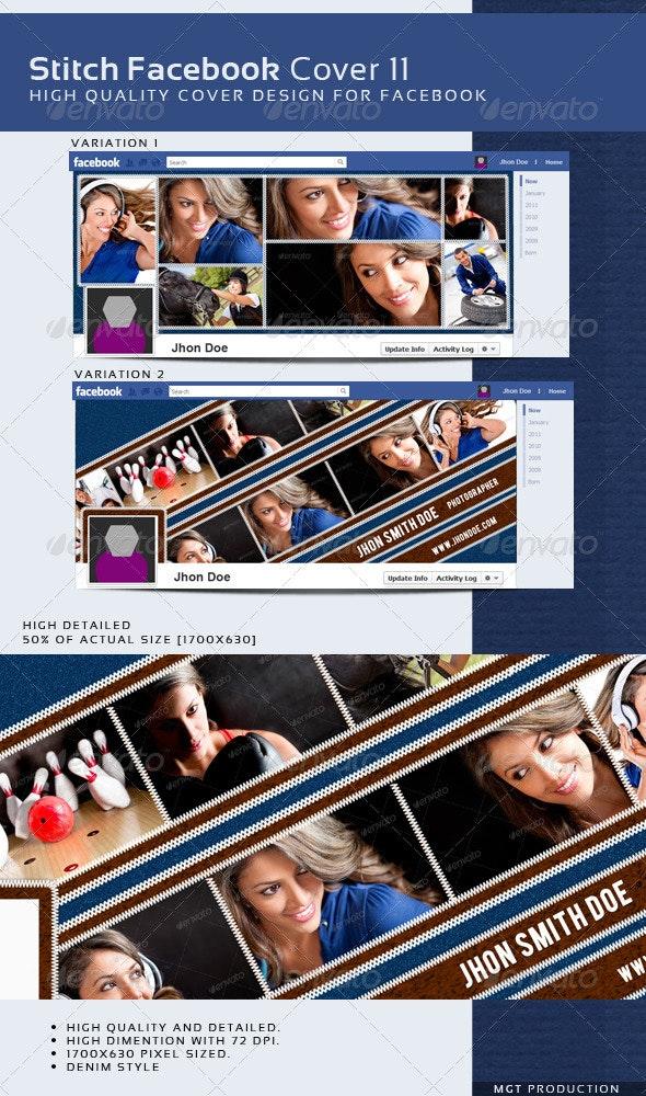 Stitch Facebook Timeline Cover 9 - Facebook Timeline Covers Social Media