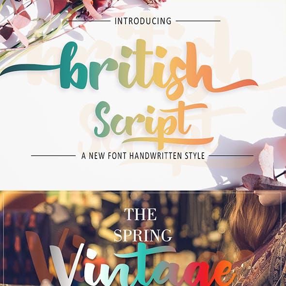 British Script