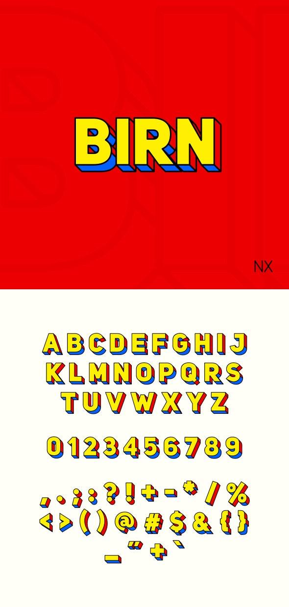 Birn NX - Sans-Serif Fonts