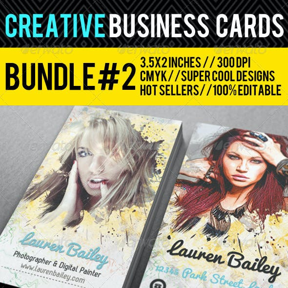 Creative Business Card Premium Bundle #2