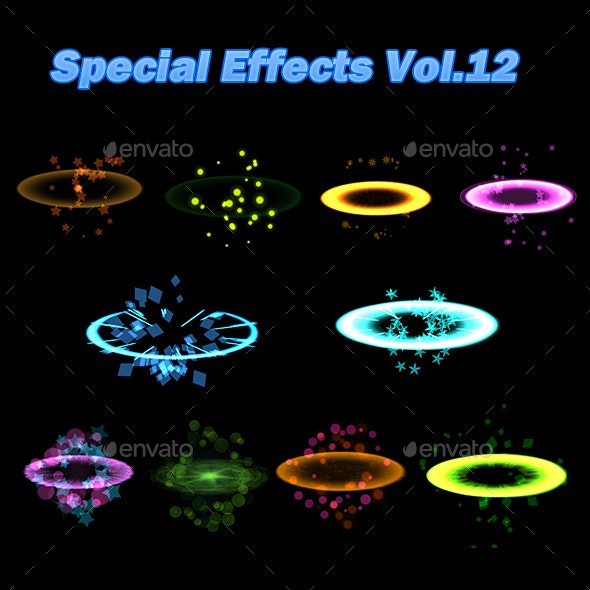 Special Effects Vol.12 - Miscellaneous Game Assets