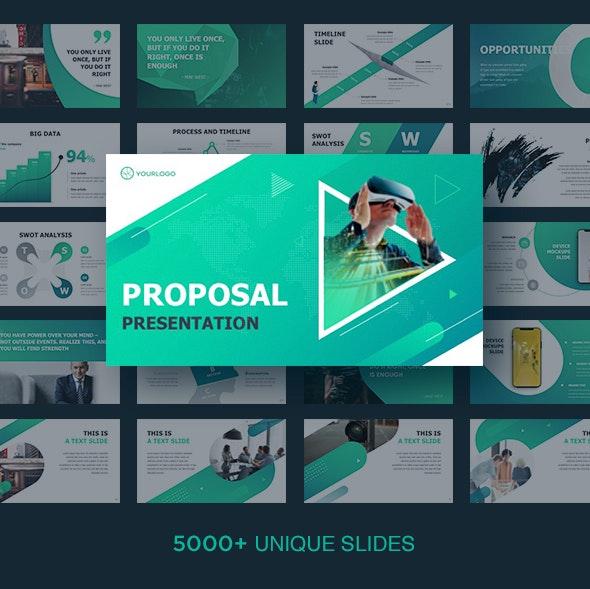Proposal Keynote - Business Keynote Templates