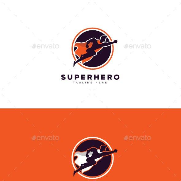 Super Hero Logo Template