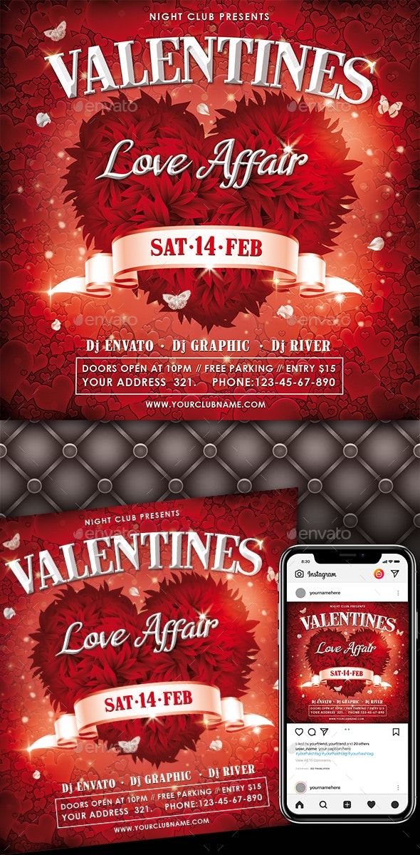 Valentines Day - Events Flyers