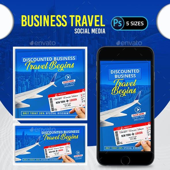 Business Travel Social Media Pack