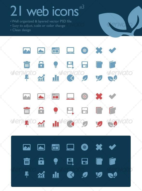 21 web icons #3 - Web Icons