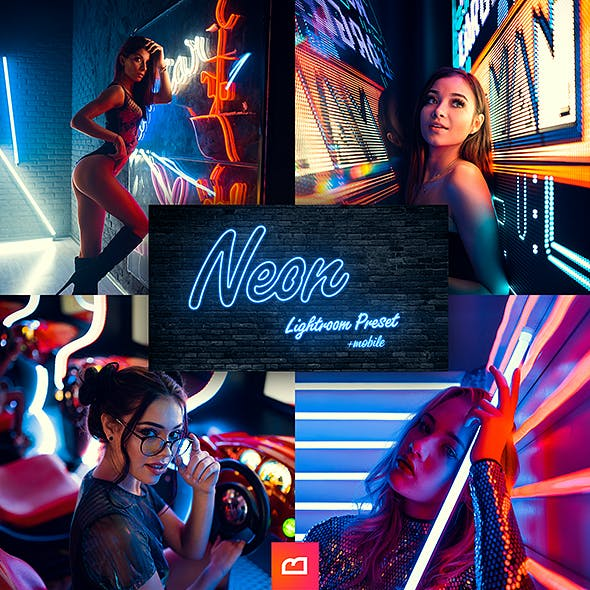 Artistic Collection - Neon Lightroom Preset (Mobile & Desktop)