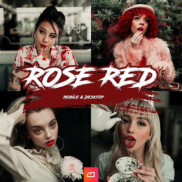 Artistic Collection - Rose Red Lightroom Preset (Mobile & Desktop)