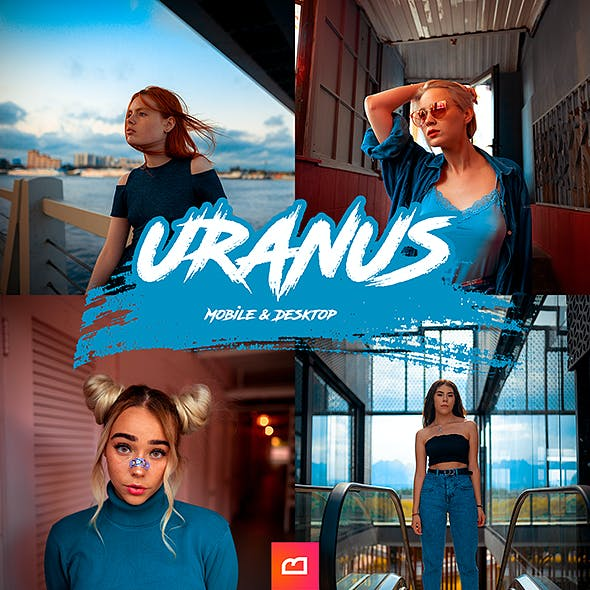 Artistic Collection - Uranus Lightroom Preset (Mobile & Desktop)