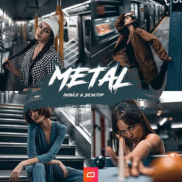 Artistic Collection - Metal Lightroom Preset (Mobile & Desktop)