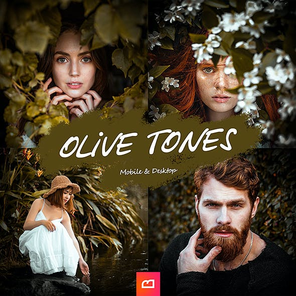 Artistic Collection - Olive Tones Lightroom Preset (Mobile & Desktop)