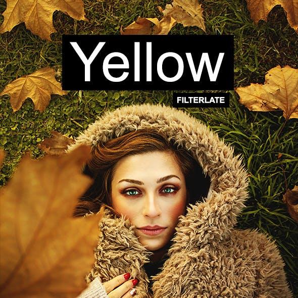 Yellow Photoshop Actions