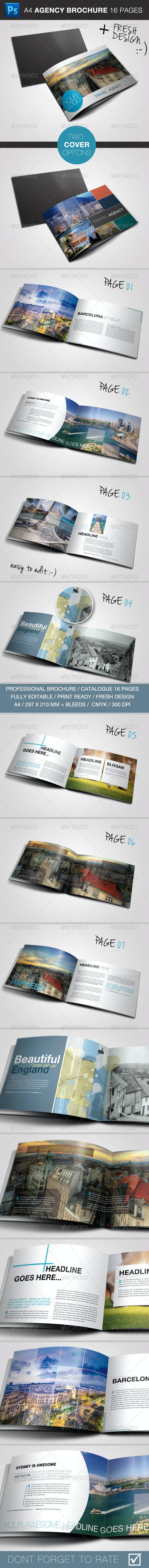 Travel / Business Brochure - Brochures Print Templates