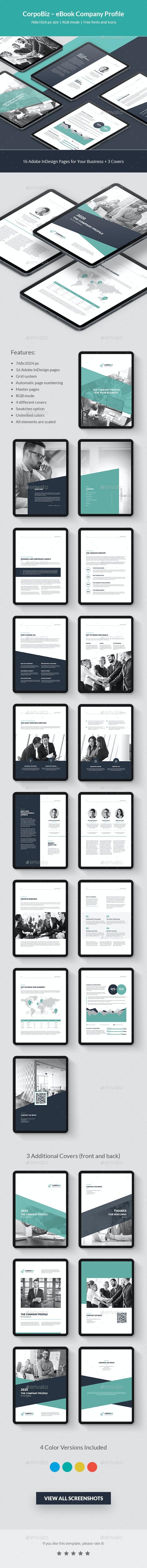 CorpoBiz – Business and Corporate eBook Company Profile - Digital Books ePublishing