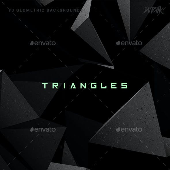 Triangles | Geometric Backgrounds