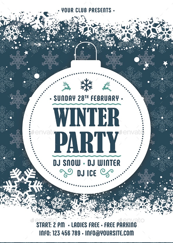 Winter - Clubs & Parties Events