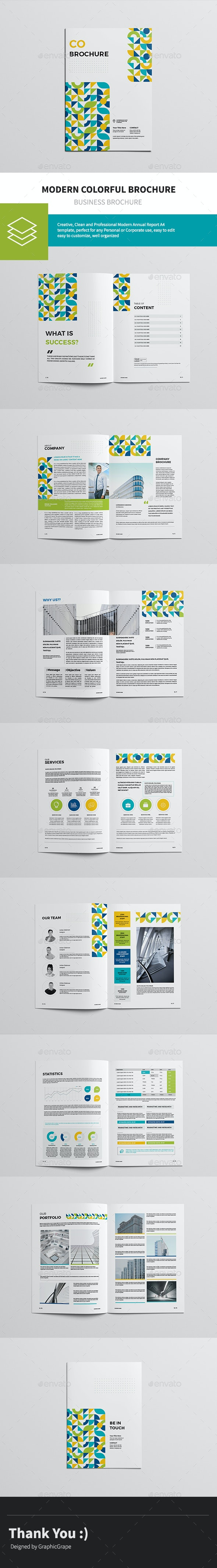 Modern Colorful Brochure - Corporate Brochures