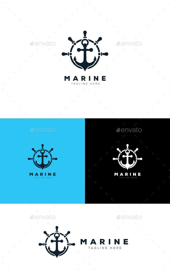 Marine Logo - Objects Logo Templates