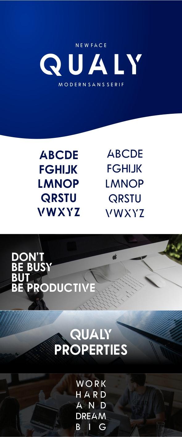 Qualy - Sans-Serif Fonts