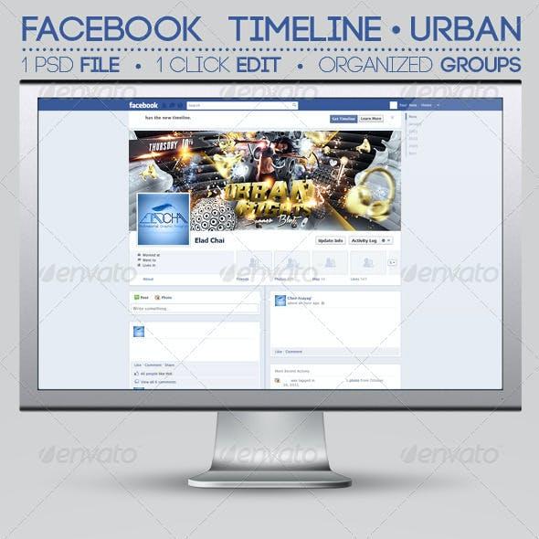 Facebook Timeline Cover | Urban Nights