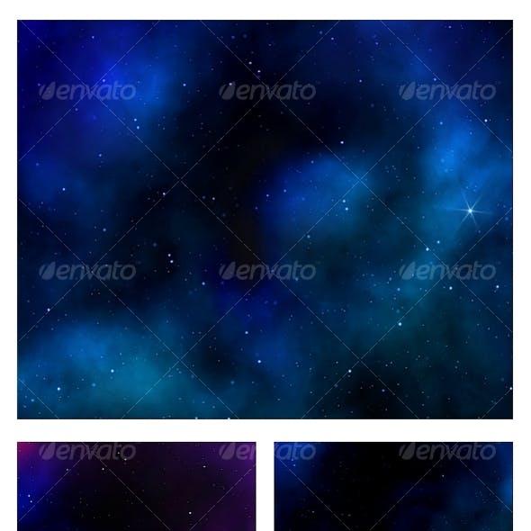 Deep Sky Galaxy Backgrounds
