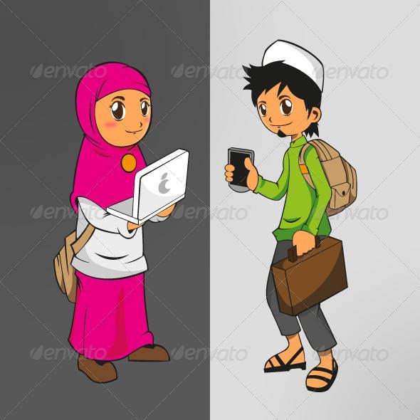 Teenager Moslem