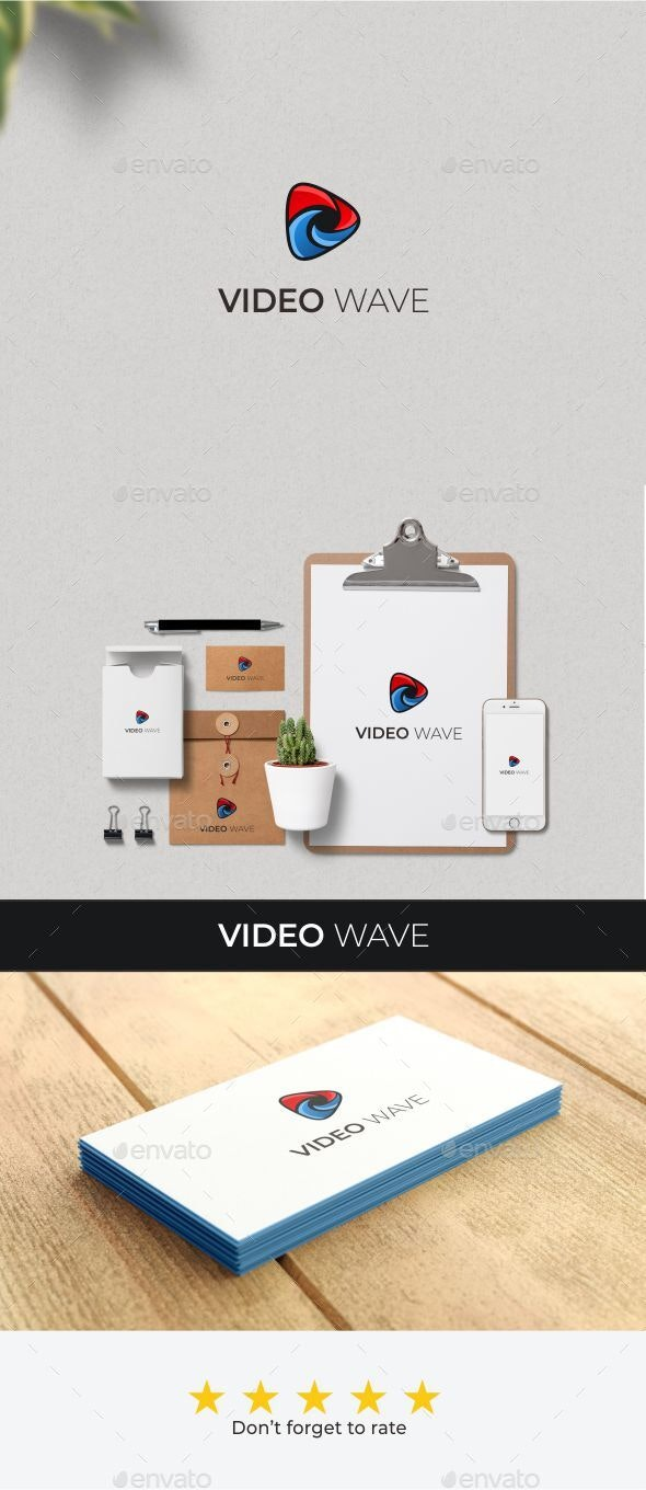 wave video - Abstract Logo Templates