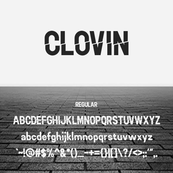 Clovin Font