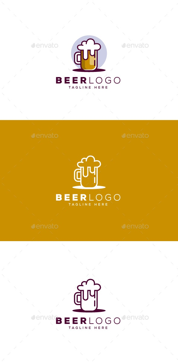 Beer Logo - Food Logo Templates