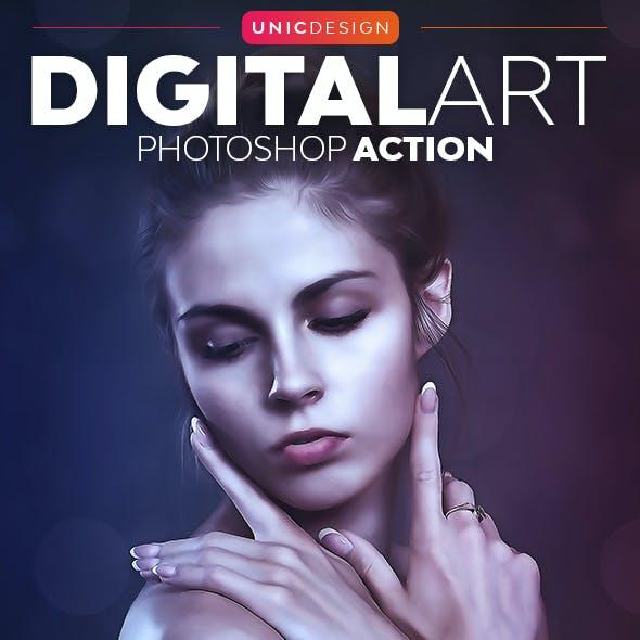 DigitalArt Photoshop Action