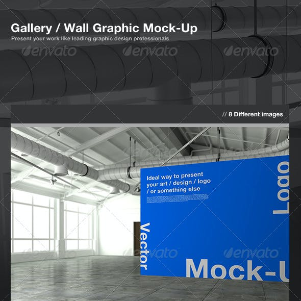 Gallery / Wall Graphic Mock-Up