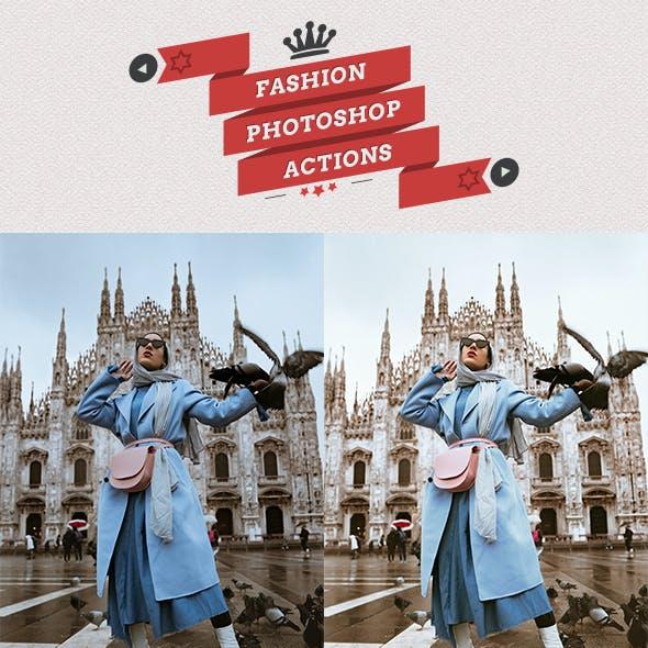 Fashion Style Photoshop Actions
