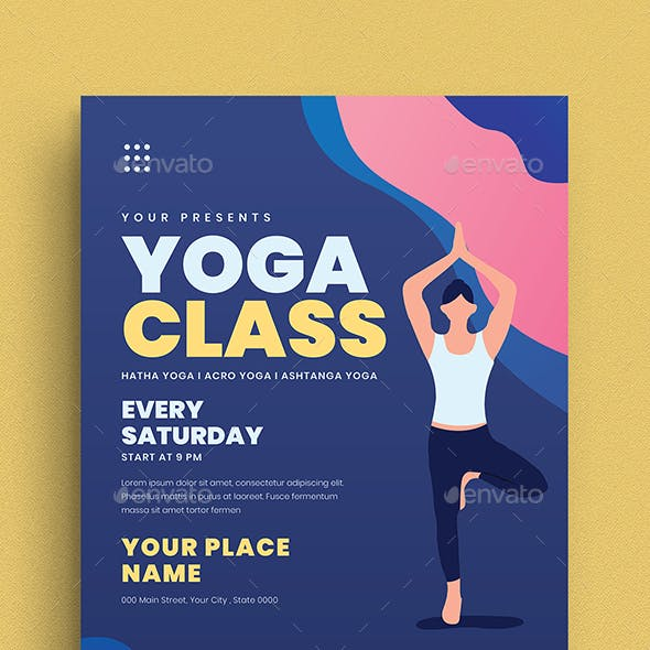 Class Flyer Graphics Designs Templates From Graphicriver