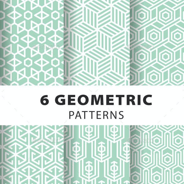 Geometric Seamless Pattern Set
