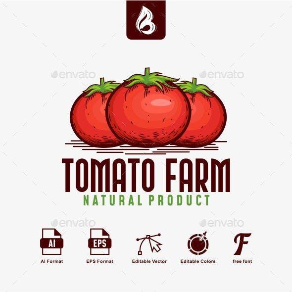 Tomato Farm Logo